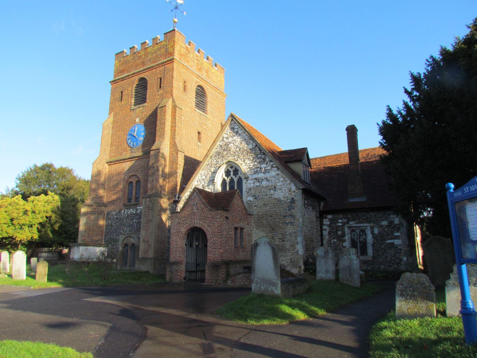 an analysis of saint marys church